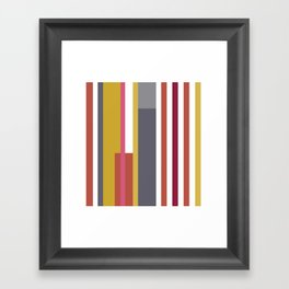 Autumn Rainbow Framed Art Print