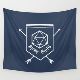 Roleplayer's Crest Wall Tapestry