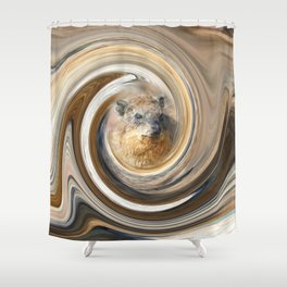 African Rock Hyrax Shower Curtain