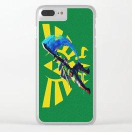 The Legend Of Zelda Sword Clear iPhone Case
