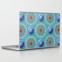 matrix Laptop & iPad Skins featuring Empyrean Matrix by Peter Gross