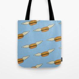 Bob's Burgers Flying Burger Tote Bag
