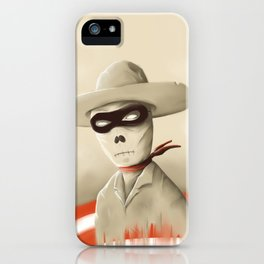 Wild wild death iPhone Case