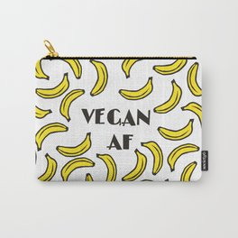 Vegan AF - bananas bananas Carry-All Pouch