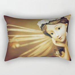 Daydreamer - Vintage Angel Rectangular Pillow