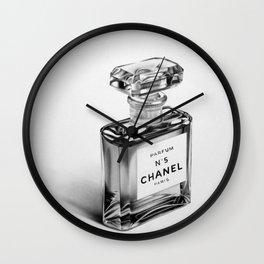 Perfume Bottle Wall Clock