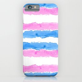 Trans Colors - Love Is Love iPhone Case