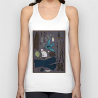 tool Tank Tops featuring Sabriel tool kit by LauraTolton