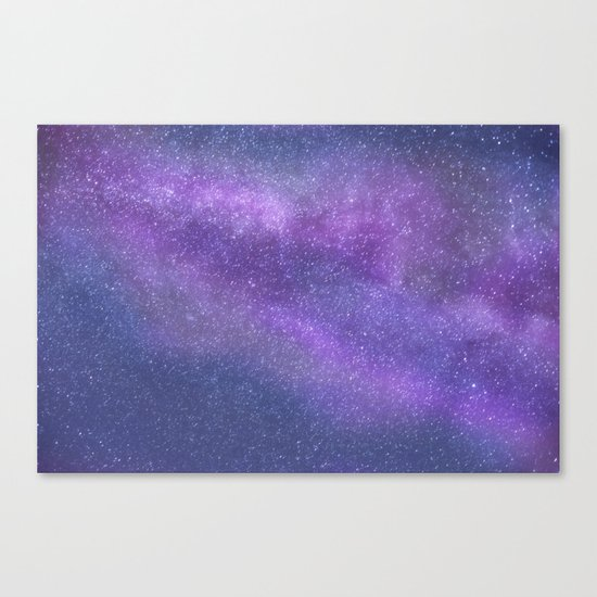 Deep Purple Milky Way Stars by carlyjcais