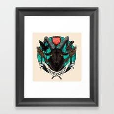 Black Phillip (The Witch) Framed Art Print