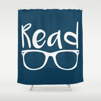 read Shower Curtains featuring Read  by Create Explore Read