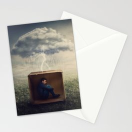 the emotions prisoner Stationery Cards