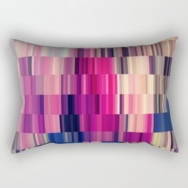 Abstract summer bright square pattern Rectangular Pillow
