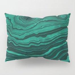 Malachite Texture 01 Pillow Sham