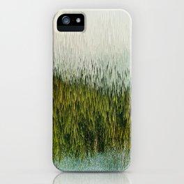 Planet Pixel Mountain iPhone Case
