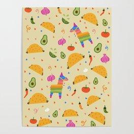 Taco Fiesta Poster