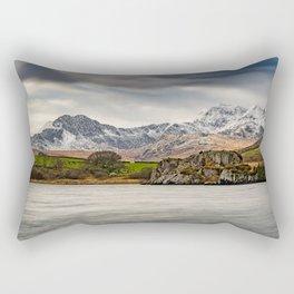Snowdon Horseshoe Winter Rectangular Pillow