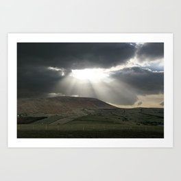 rays of goodness Art Print