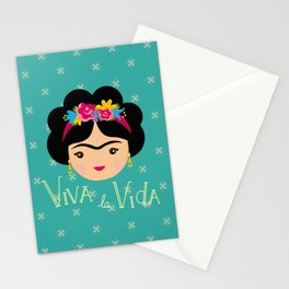 Frida Kahlo Viva la Vida Stationery Cards