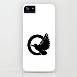 MALE SPA - BLACK DOVE LOGO iPhone Case