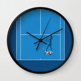 Tennis Girl Player  Wall Clock