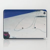 hiking iPad Cases featuring Hiking by Richard McGee