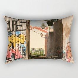 Defaced Rectangular Pillow