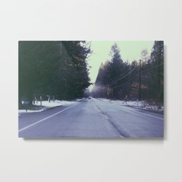 Mountain Rainier  Metal Print