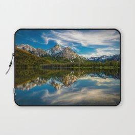 Sawtooth Range Morning Reflection Laptop Sleeve