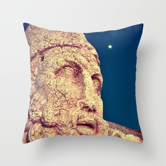 Nemrut II Throw Pillow