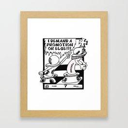 Chess Moves Framed Art Print
