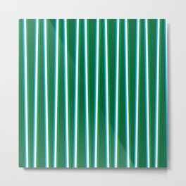 Between the Trees - Forest Green, Green & Blue #811 Metal Print