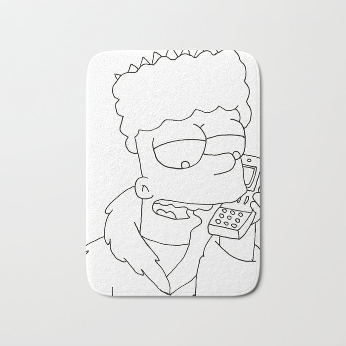 a3a43c97 Black And White Bart Simpson Cry - best menu template design