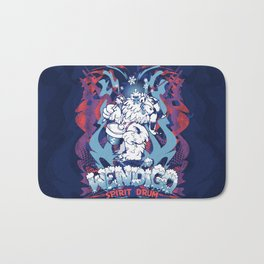 WENDIGO Spirit Drum Bath Mat