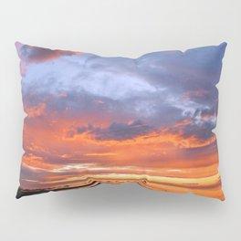 Stunning Seaside Sunset Pillow Sham