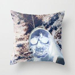 Neon Underworld Throw Pillow
