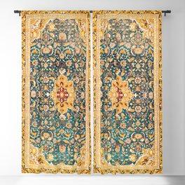 Amritsar Punjab Northwest Indian Rug Print Blackout Curtain