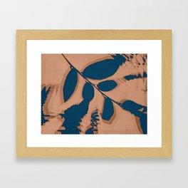 2020 Fall/Winter 03 Peach Framed Art Print
