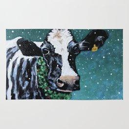 Holiday Holstein Rug