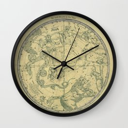 Atlas, Designed to Illustrate the Geography of the Heavens, plate 6 (1850) Wall Clock