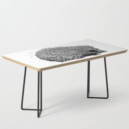 Leaf Hedgehog Coffee Table