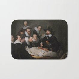 Anatomy Lesson of Dr. Nicolaes Tulp-Rembrandt Bath Mat