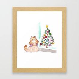 Sophie's Tree Framed Art Print