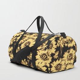 poppy floral in cream Duffle Bag