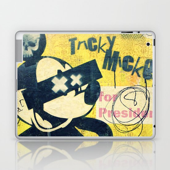 Tricky Mickey (Painted Version) Laptop & iPad Skin