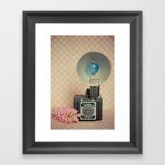 Traveler 120 Vintage Camera Framed Art Print