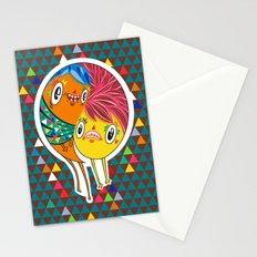 Polypop 2 Heads Stationery Cards