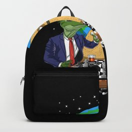 Alien Illuminati Conspiracy Backpack