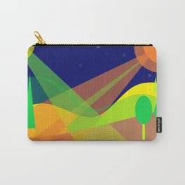 Landscape with 2 moons Carry-All Pouch