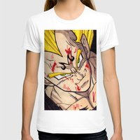 vegeta T-shirts featuring Vegeta by DeMoose_Art